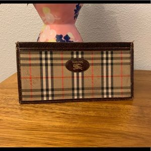 🇬🇧 BURBERRY Nova Check Vintage Long Wallet